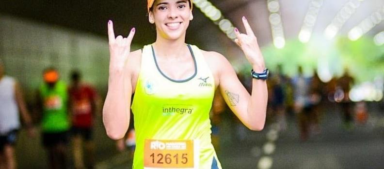 Jogo rápido com a maratonista Thaís Barros