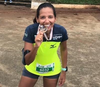 Adriana Guedes rumo à maratona, em uma jornada digna de uma mulher maravilha
