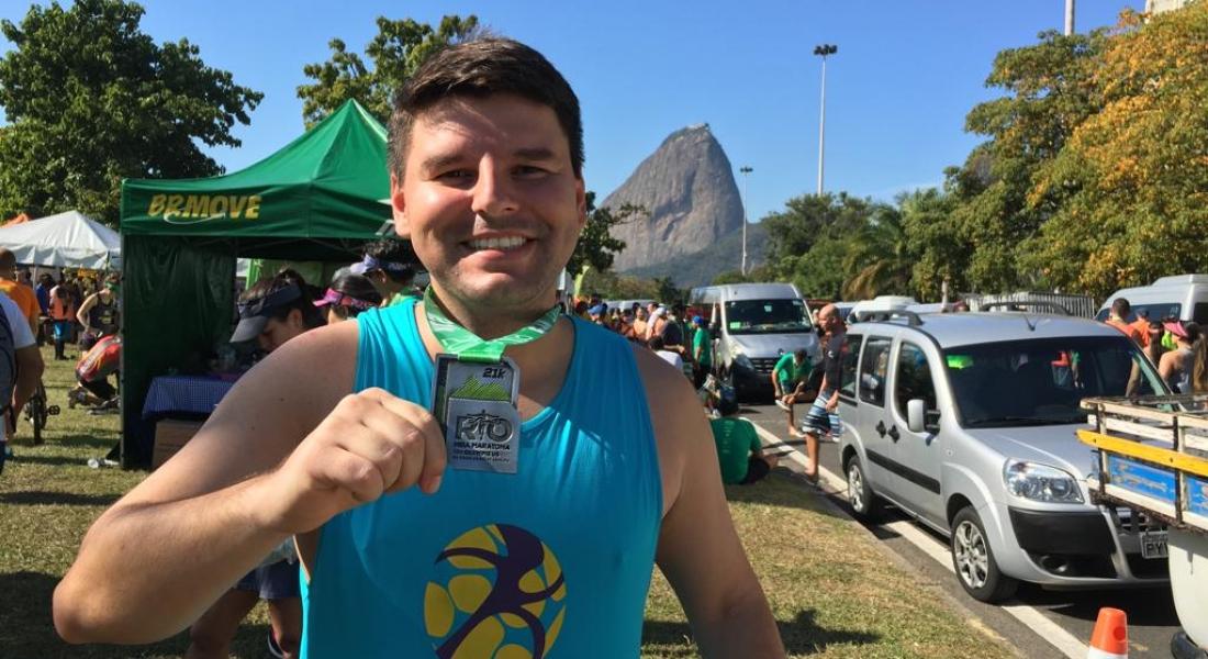 Eduardo Melo: do início despretensioso às meias e o sonho com a maratona