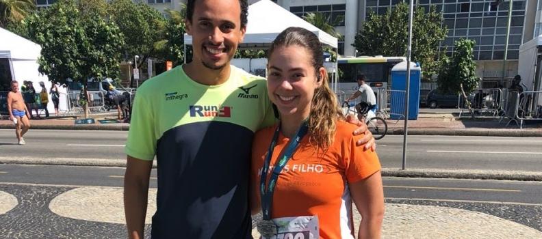 Marcelle Rodrigues e sua primeira meia maratona