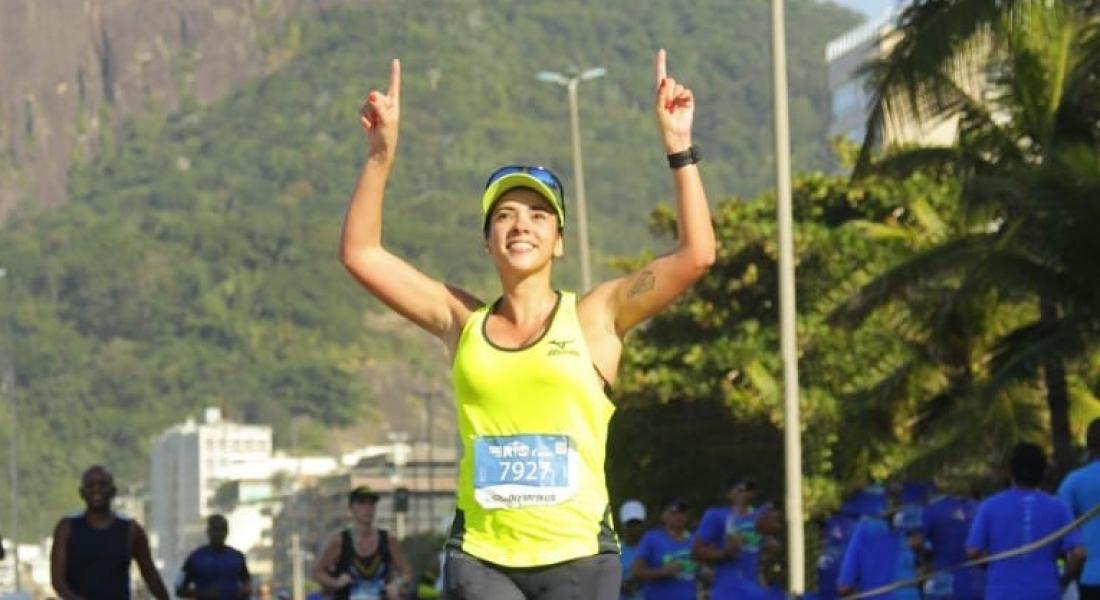 """Thaís Barros: """"Amo correr e me sinto ótima após uma corrida!"""""""